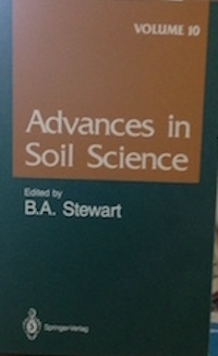 Advances in Soil Science, Vol.5, edited by B.A. Stewart, Springer-Verlag publishers.  Sharma P. K. and S.K. De Datta, 1986, --Physical Properties and Processes of Puddled rice soils, pp139-168 Advances in Soil Science, Vol. 10,  edited by B.A. Stewart, Springler-Verlag, 1989.  De Datta S.K. and R.J. Buresh---Integrated Nitrogen Management in Irrigated rice pp143-164
