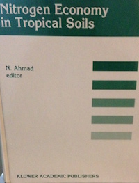 N. Ahmed editor. Kluwer Academic Publishers, 1995.   De Datta S.K.  --Nitrogen Transformation in Wetland Rice Ecosystems-- pp195-204